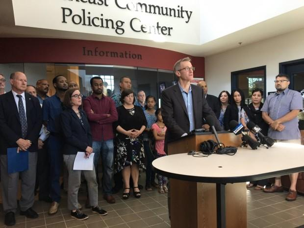 Portland mayor asks federal government to revoke permit for 'alt-right' protest