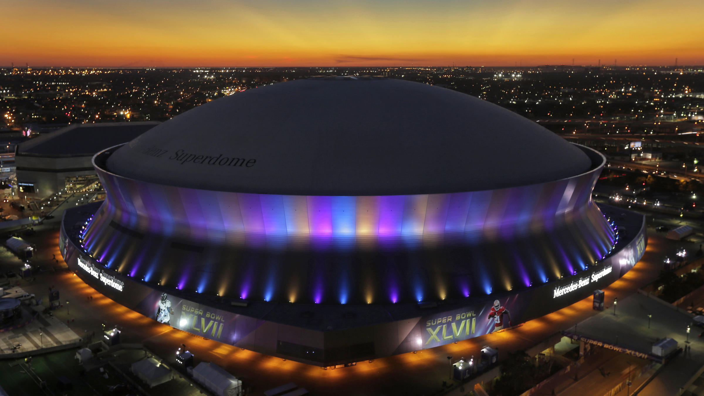 For new orleans superdome a symbol of city 39 s spirit wwno for Mercedes benz new orleans service