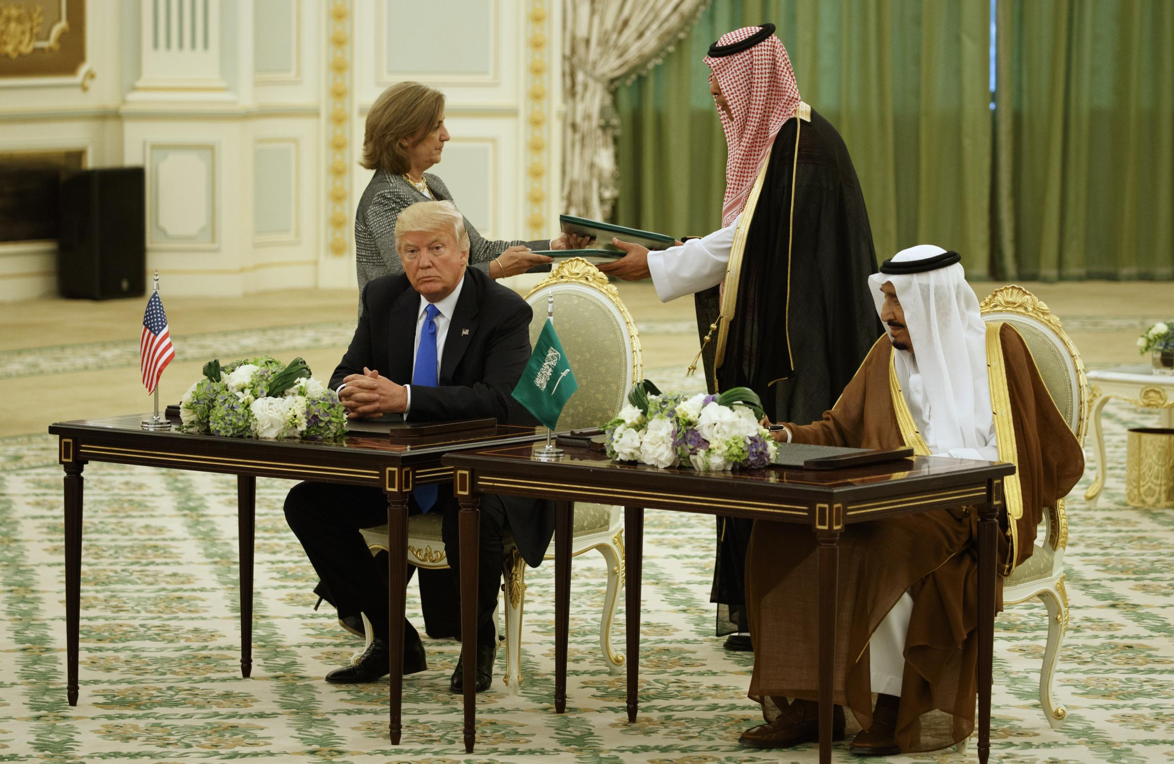 The truth about Trump's $110 billion Saudi arms deal