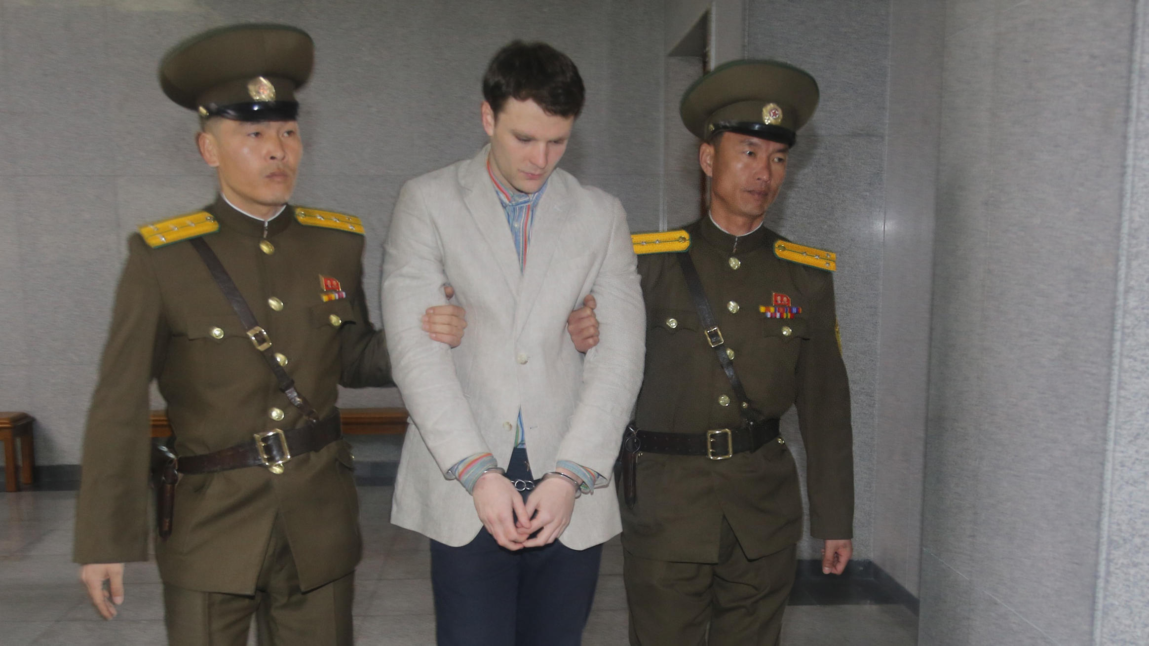 North Korea releases detained US student 'in coma'