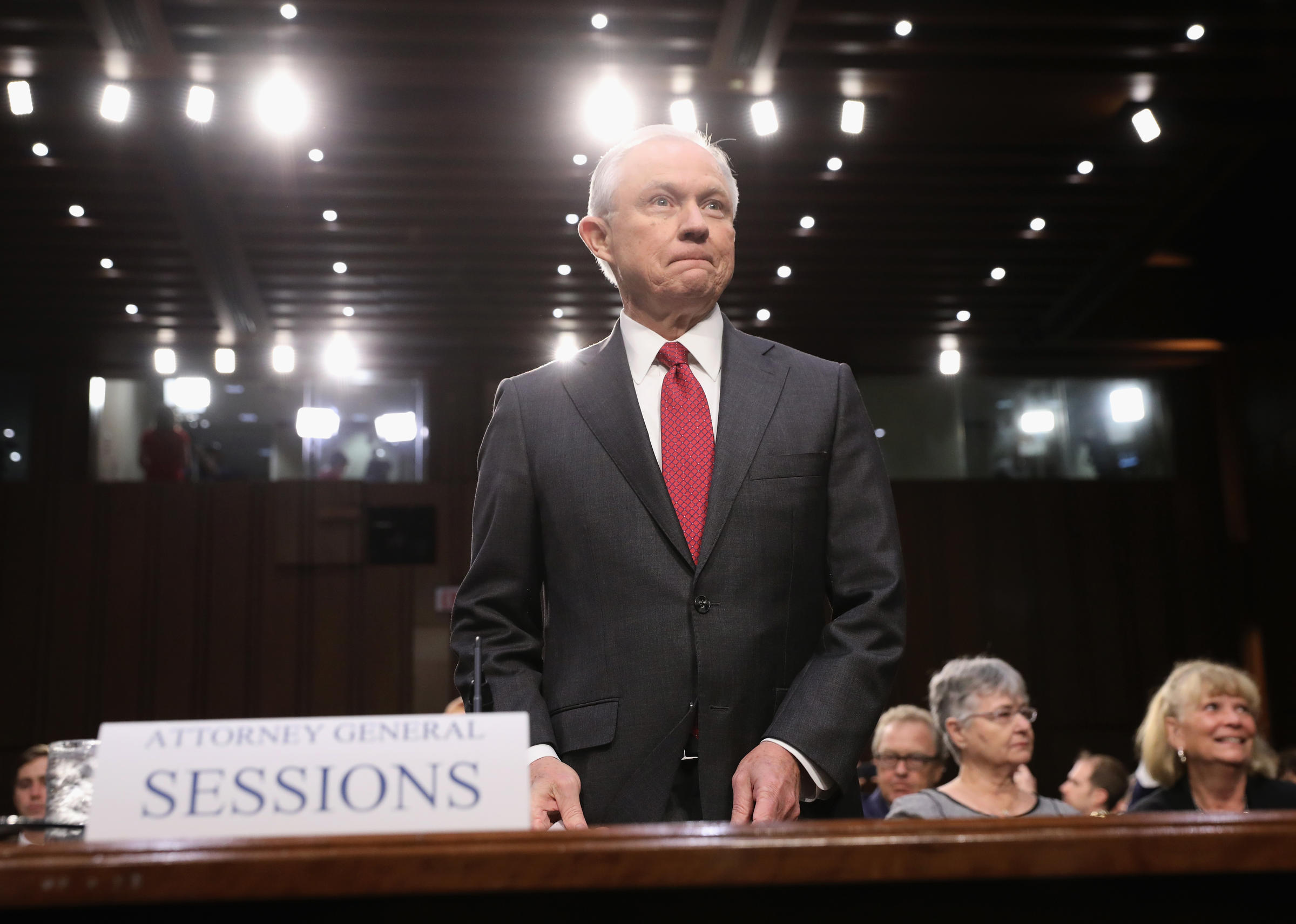 Attorney General Sessions' Opening Statement To Senate Panel, Annotated