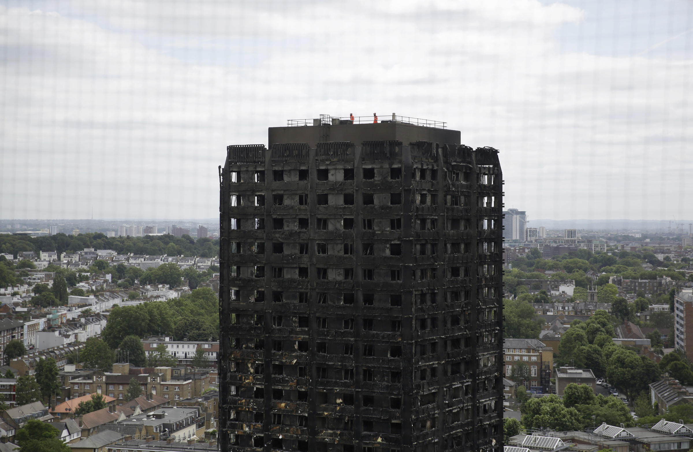 Grenfell Tower relief effort has been effective, insists council leader