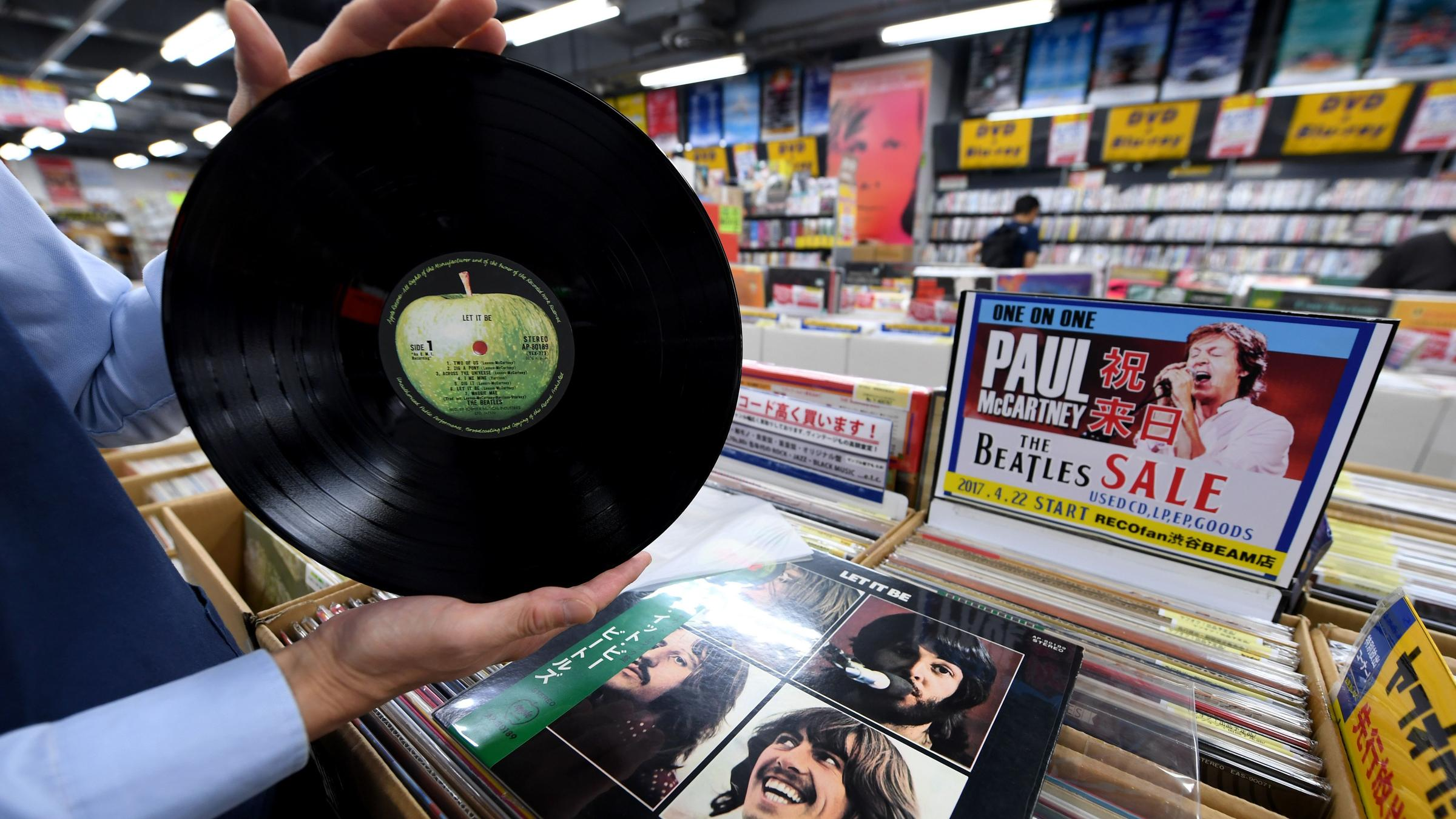Vinyl comeback: Sony to produce records again after 28-year break