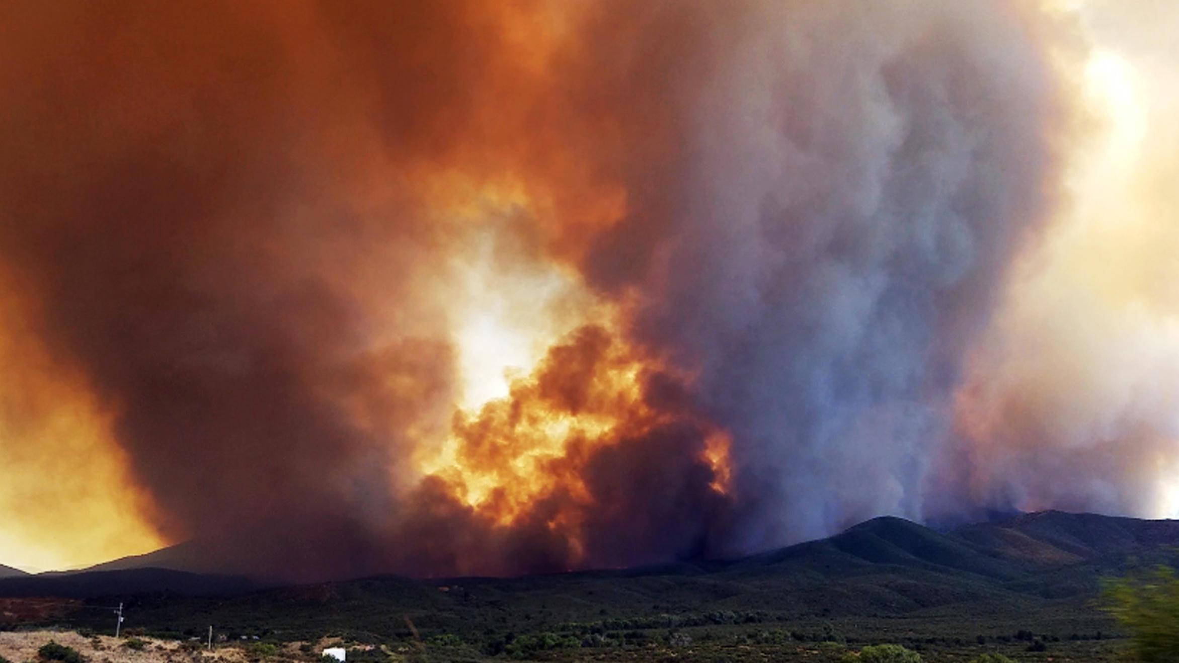 Goodwin fire map shows intensity of blaze consuming Prescott area