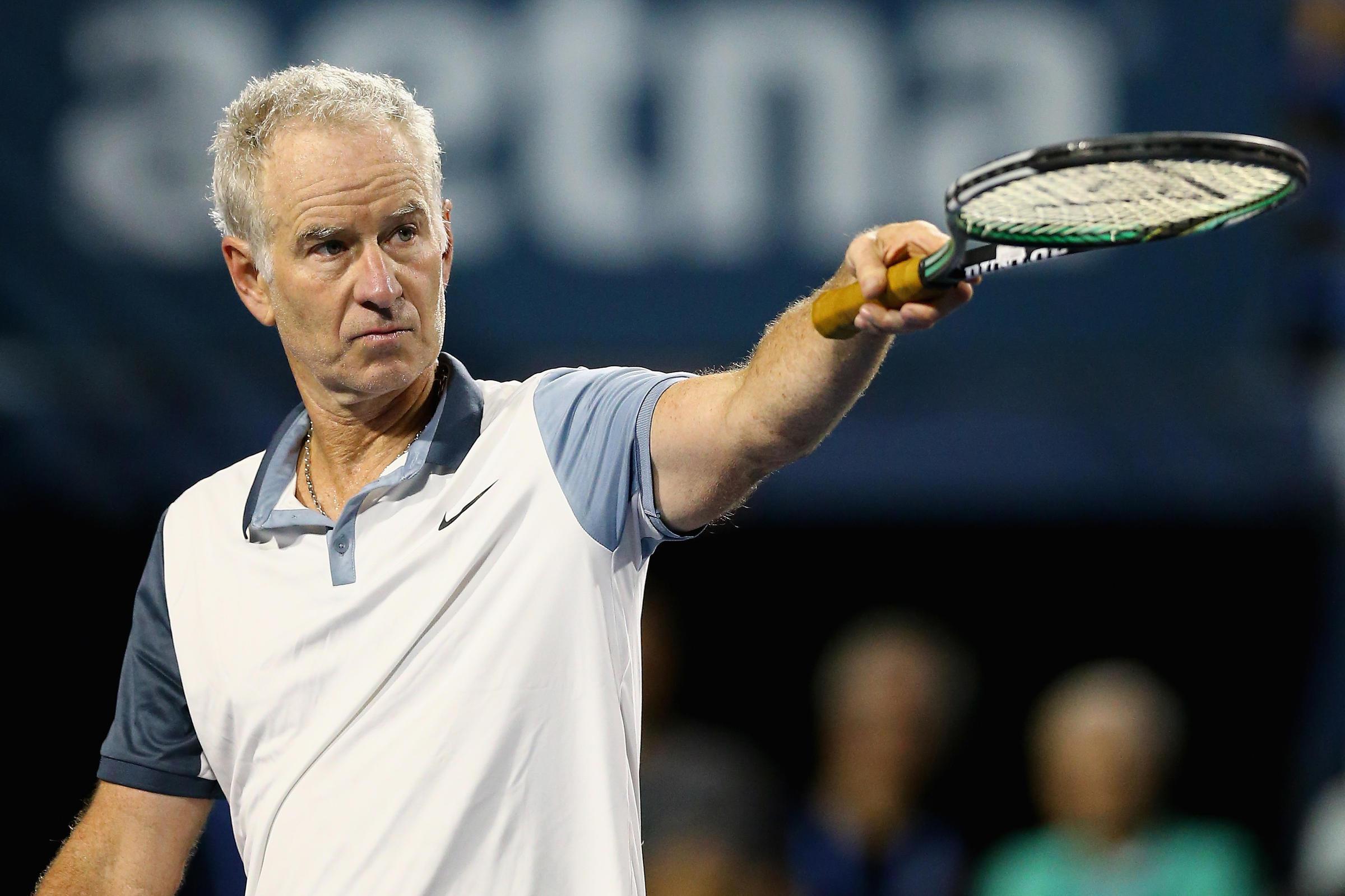 But Seriously Tennis Great John McEnroe Says He s Seeking Inner