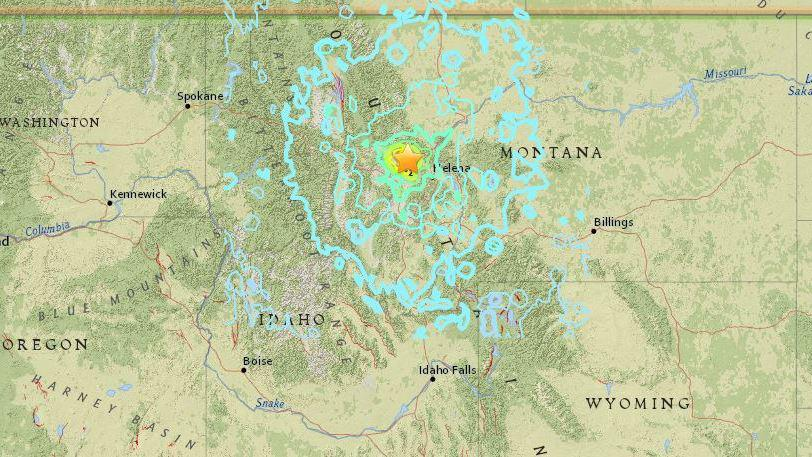 Montana Earthquake Is Felt For Hundreds Of Miles Early Thursday | WGLT