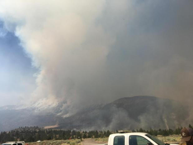Ana Fire Scorches Lake County