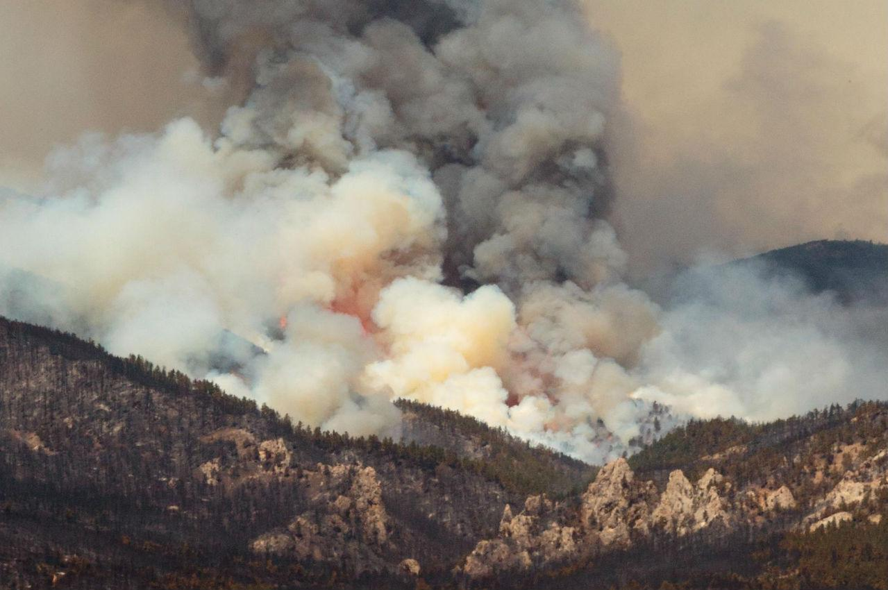 Montana blaine county hays - July Fire File Photo Courtesy Of Inciweb