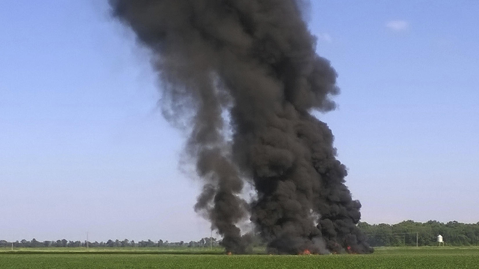 Coroner: 6 people confirmed dead after Military plane crashes in Sunflower County