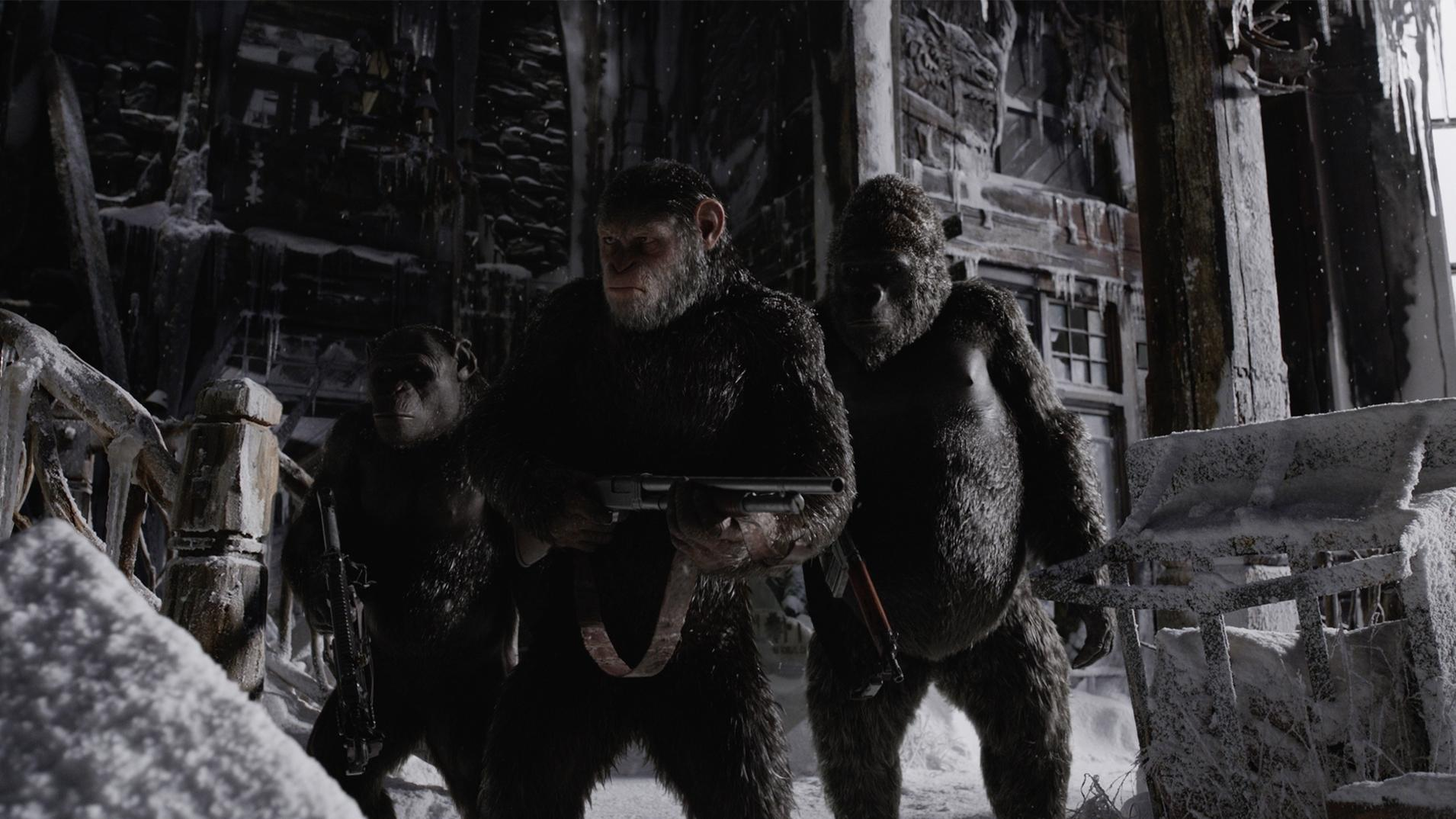 New Clip for 'War for the Planet of the Apes'