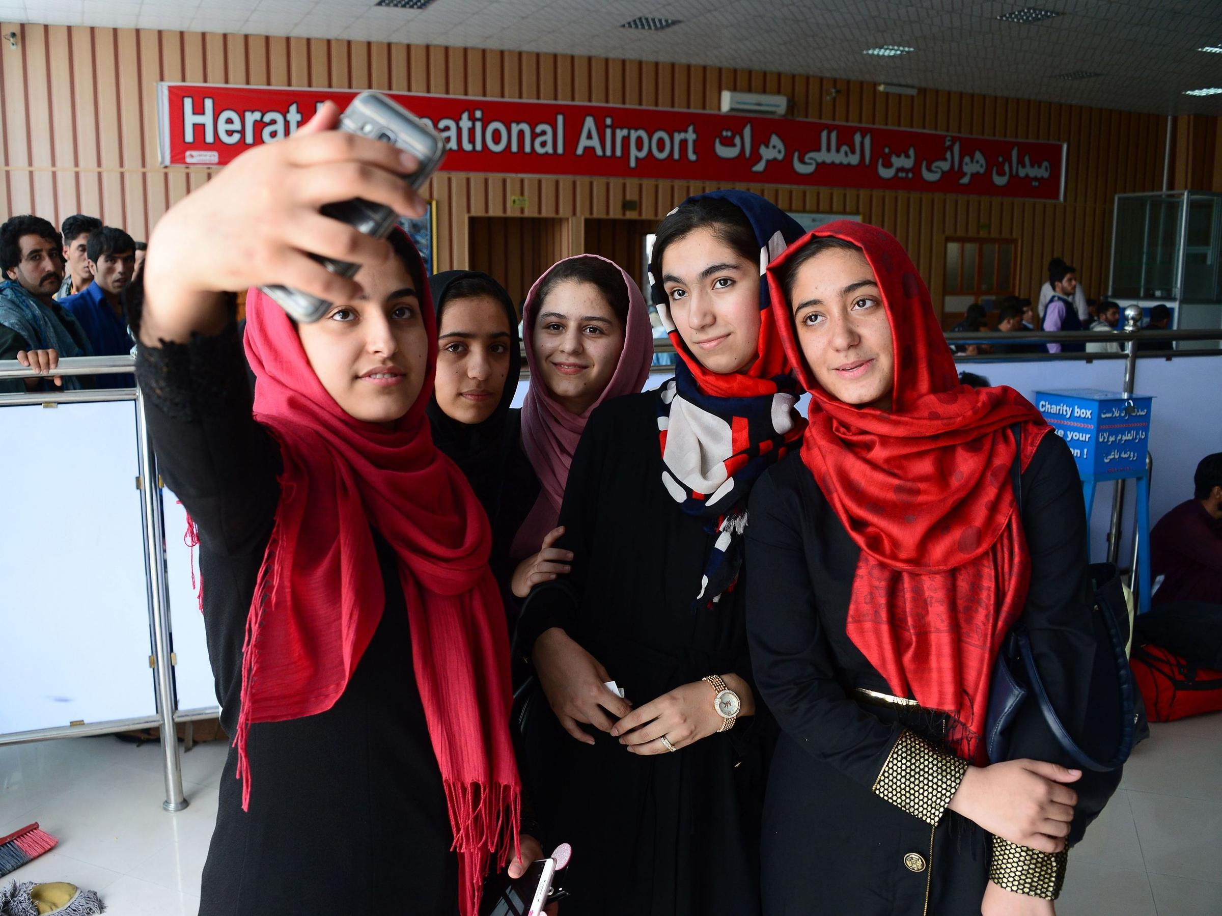 Trump help Afghan girls to participate in worldwide  robotics competition