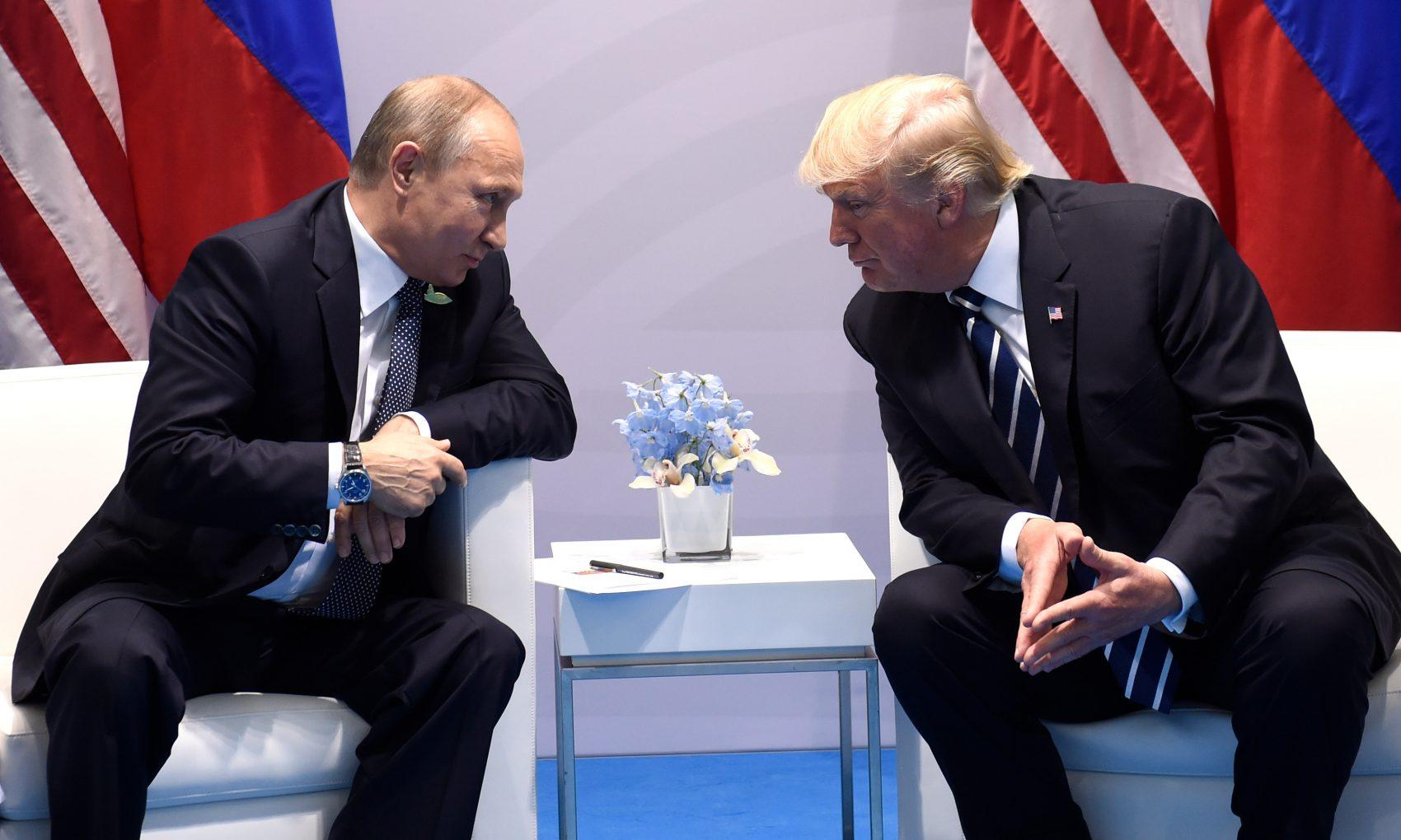 Kremlin denies 'secret meeting' between Trump and Putin