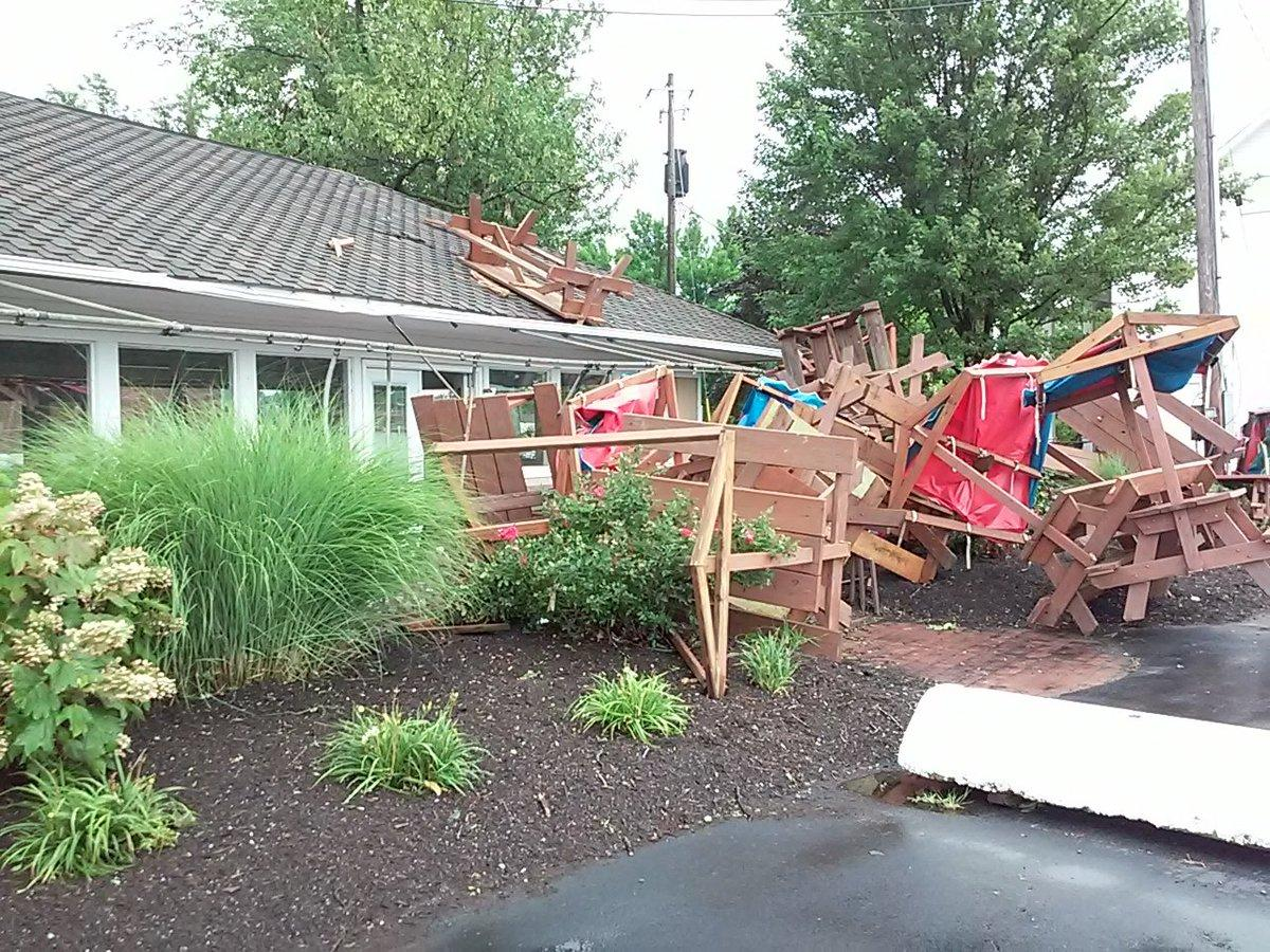 State of Emergency Declared in Hamburg, New York, After Tornadoes Leaves Damage
