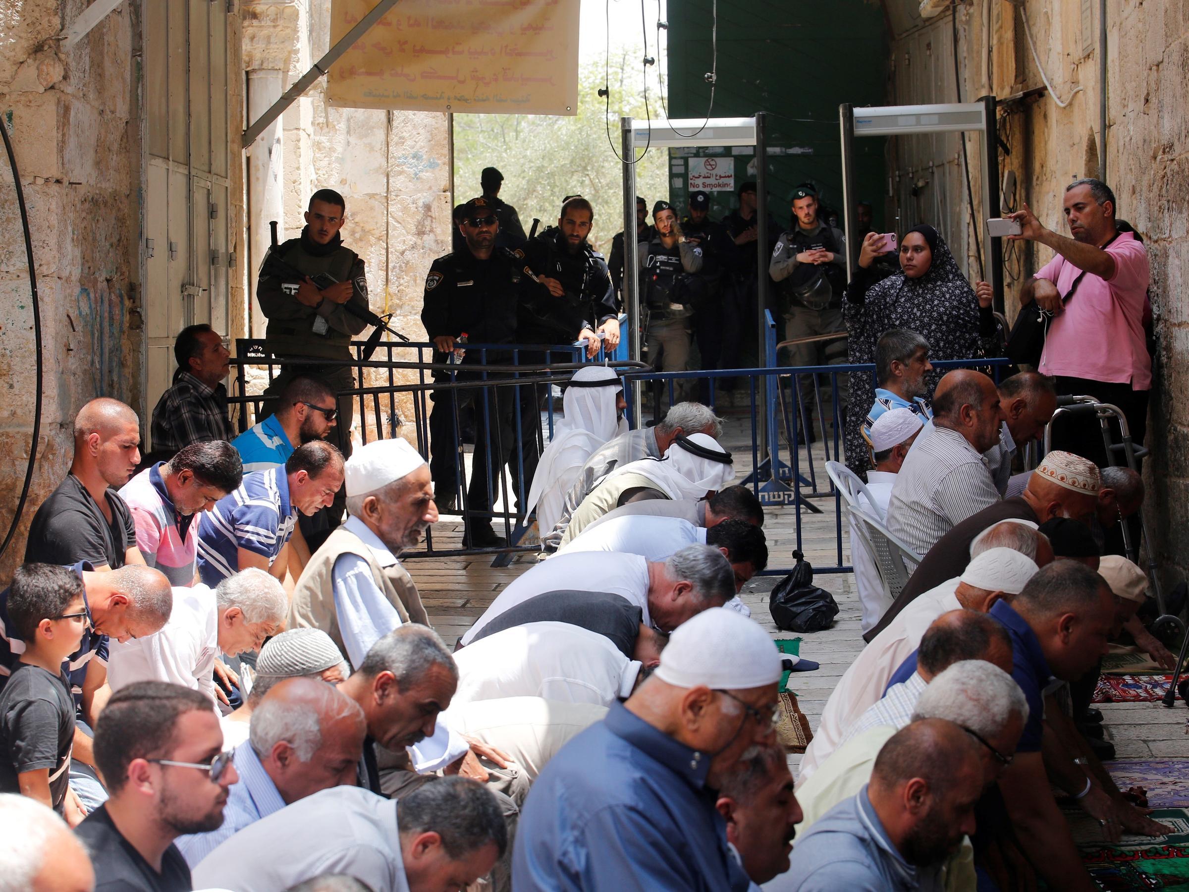 Tensions Rise in Jerusalem After Israel Installs Metal Detectors at Mosque