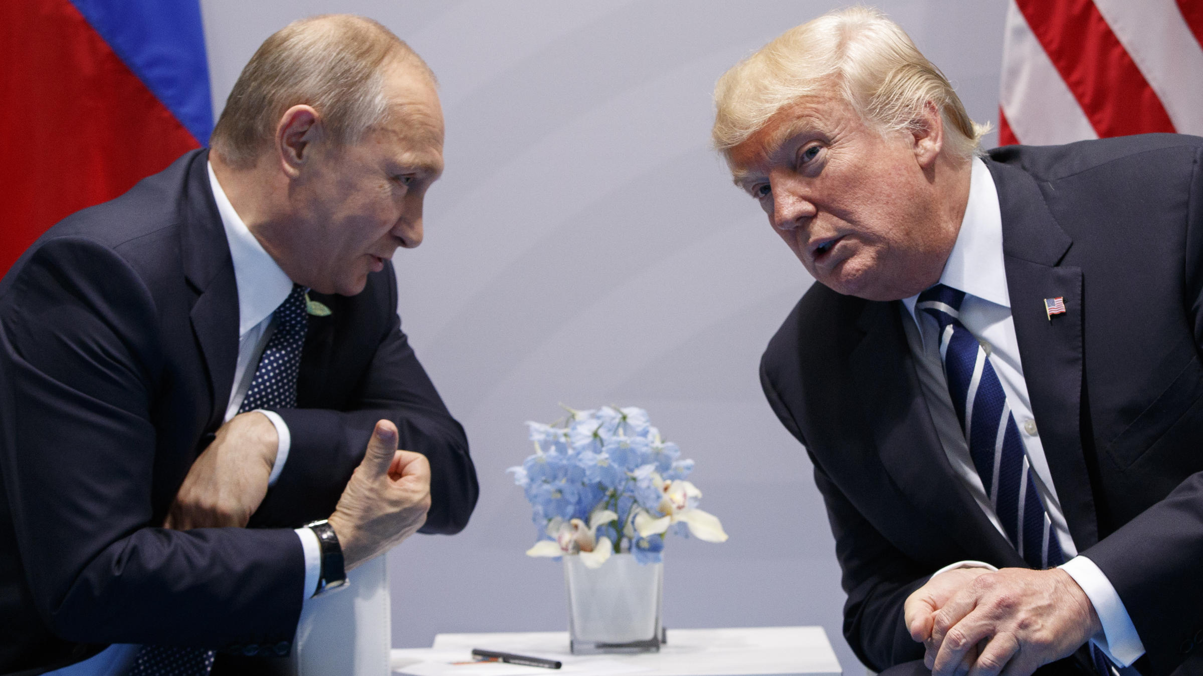 Trump signs sanctions against Russia as punishment for election meddling