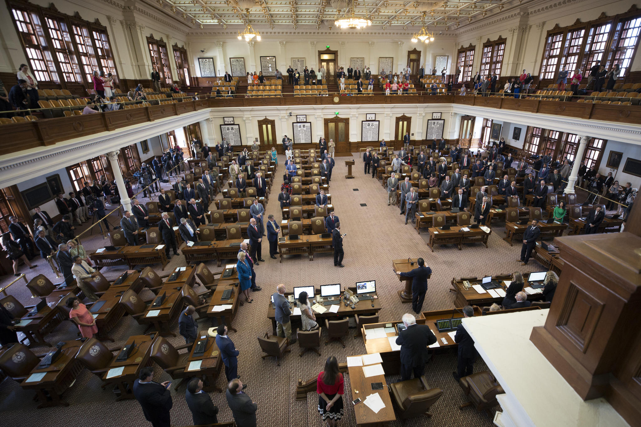 Texas House approves sending first two special session bills to governor