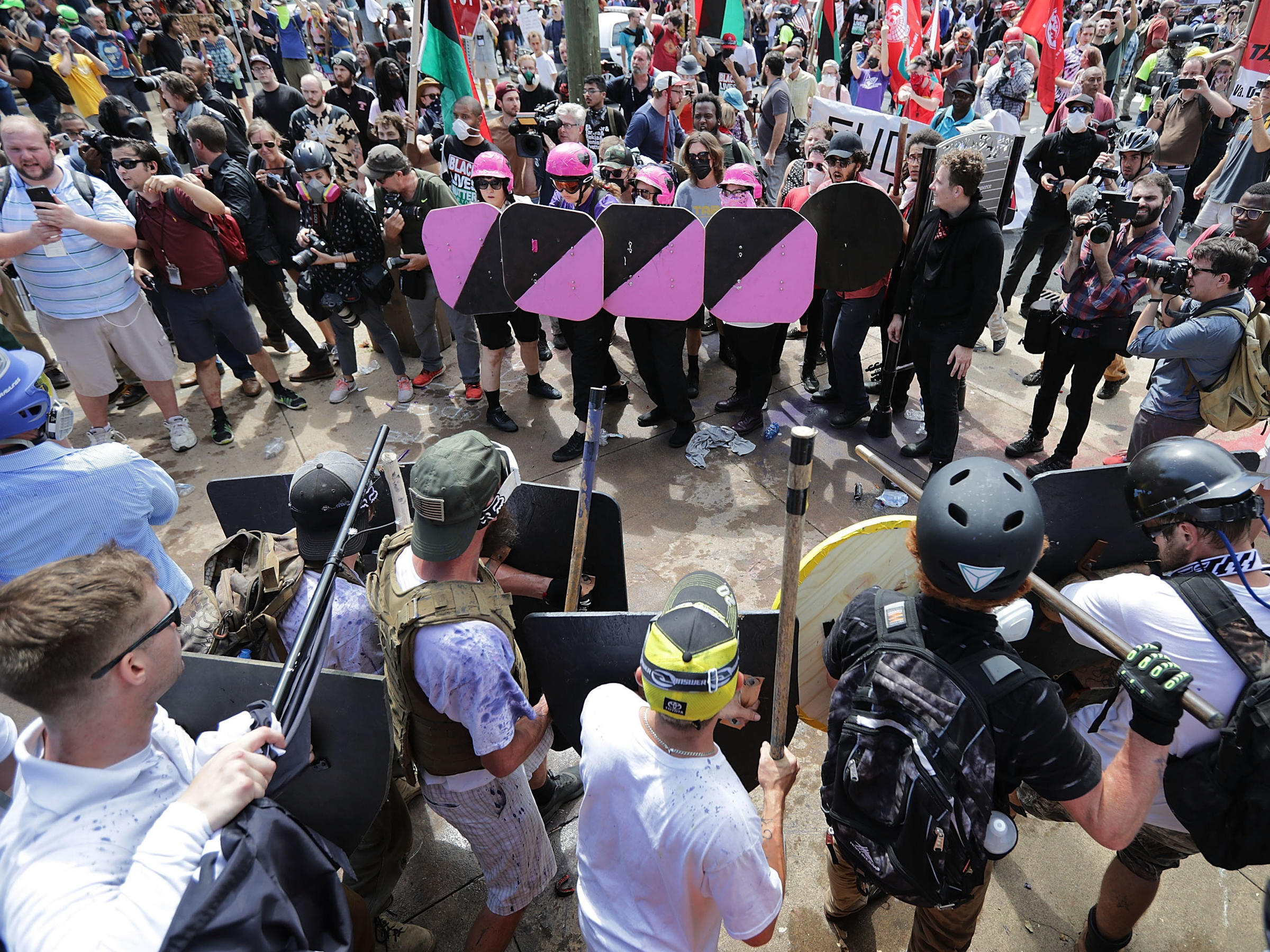 Federal Bureau of Investigation probe under way into Virginia white nationalist post-rally violence