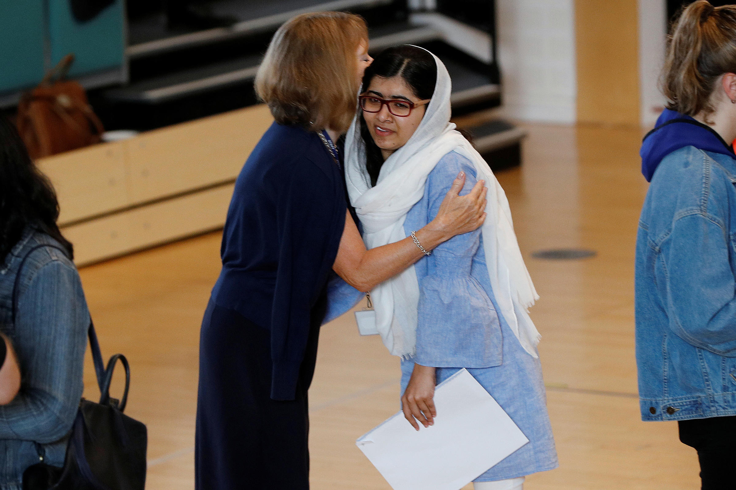 malala yousafzai the girl with a Free essay: the speaker is malala yousafzai, a pakistani girl she is sixteen years old she was shot by taliban in on october 2012 malala was the first and.