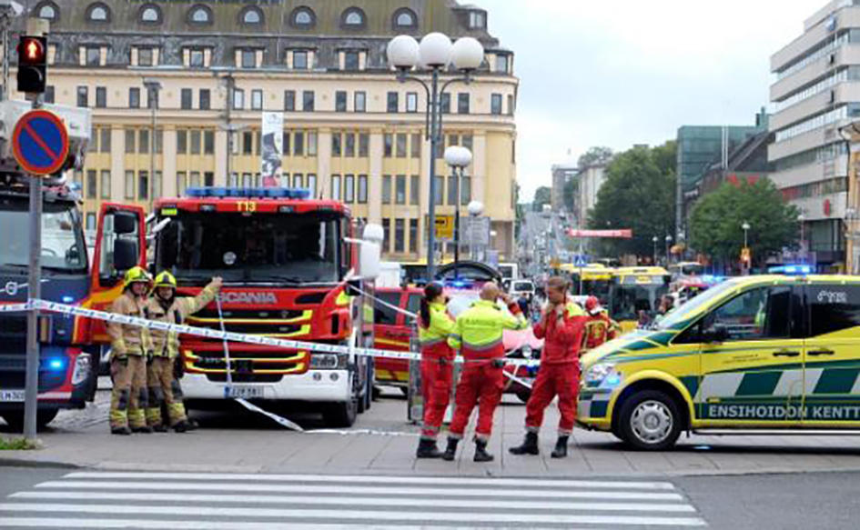 14 dead, several injured in Finland's Turku city knife stabbing