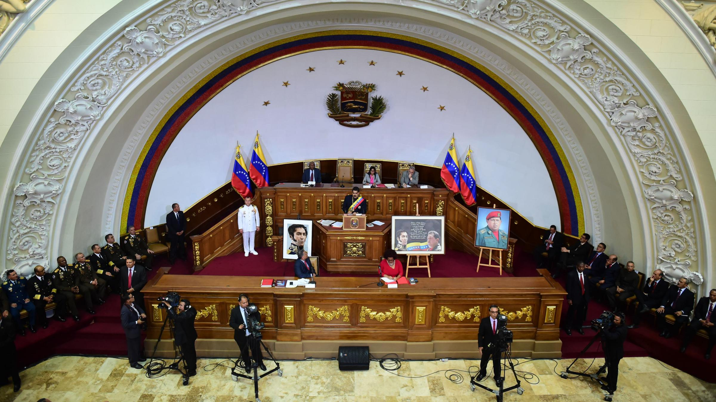 Venezuela's Constituent Assembly Assumes Legislative Functions