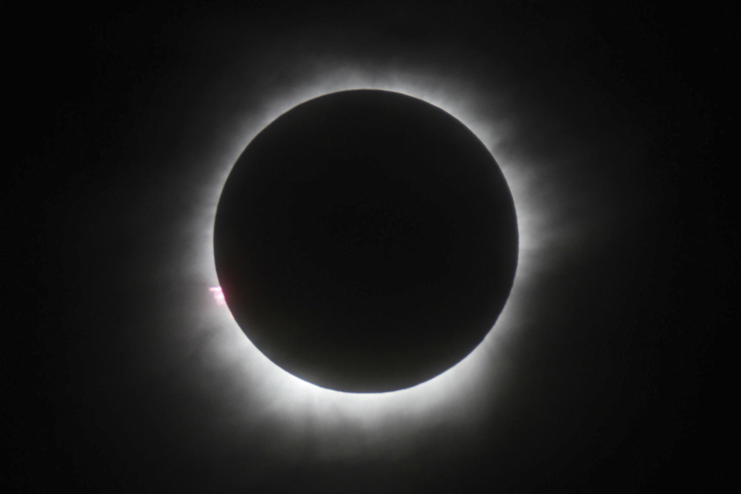 Solar eclipse day weather may include some showers