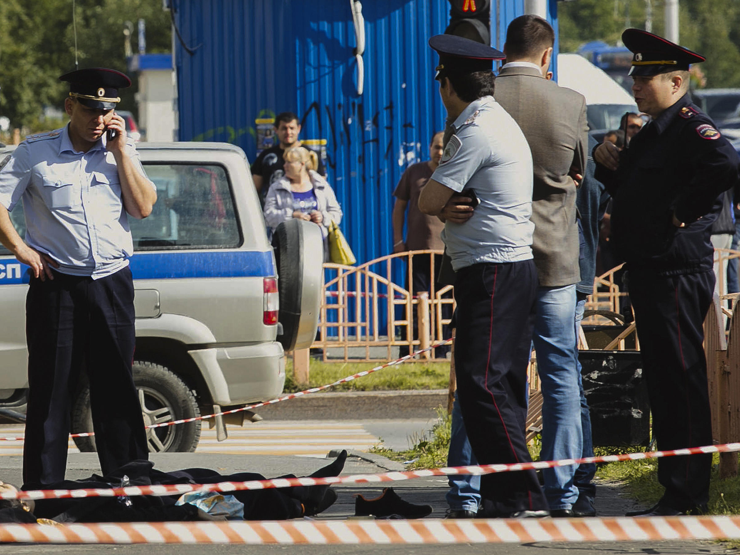 8 injured in Russian Federation  knife attack