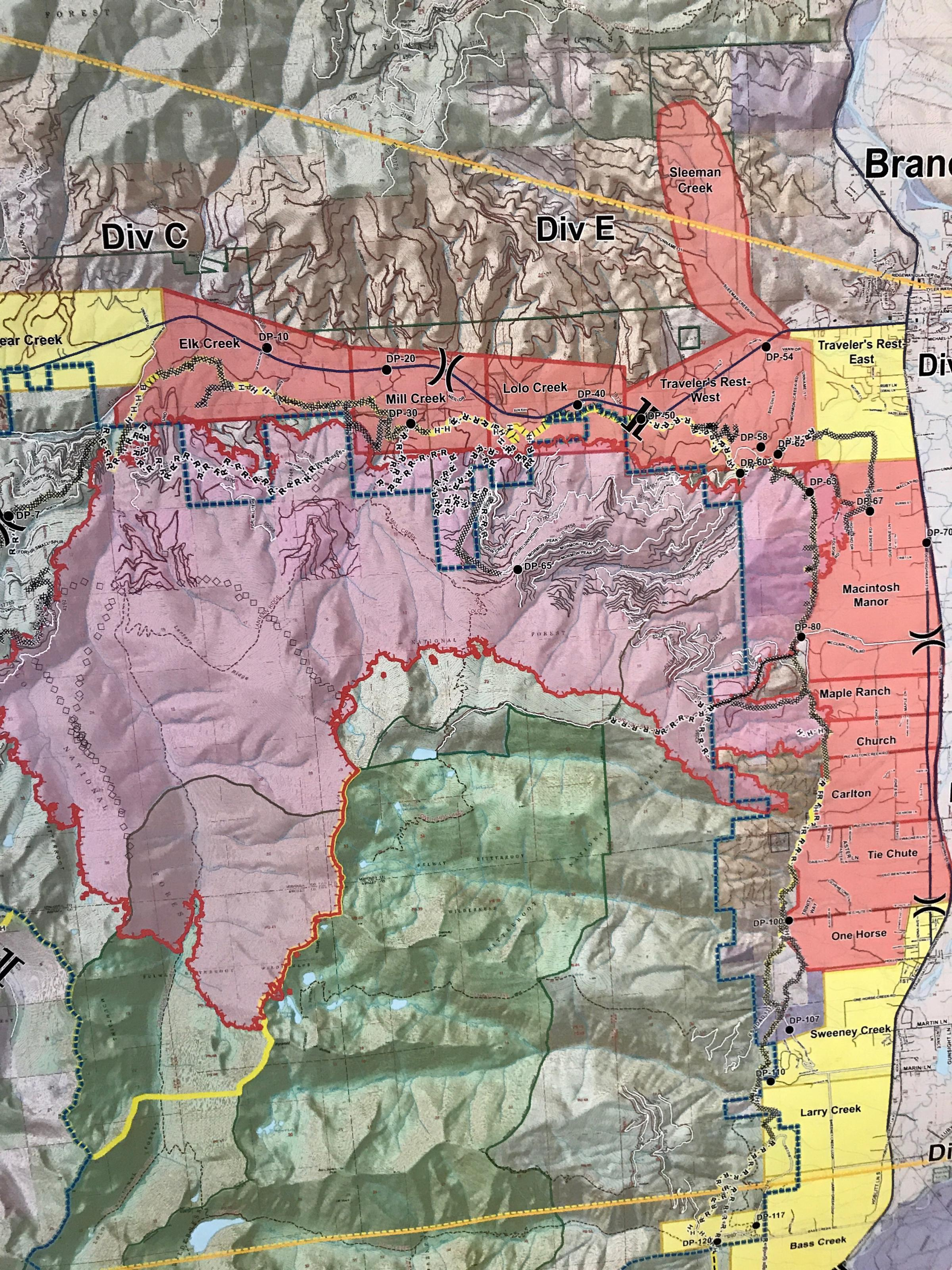 Lolo Peak Fire Update With Mike Cole Sunday August 20