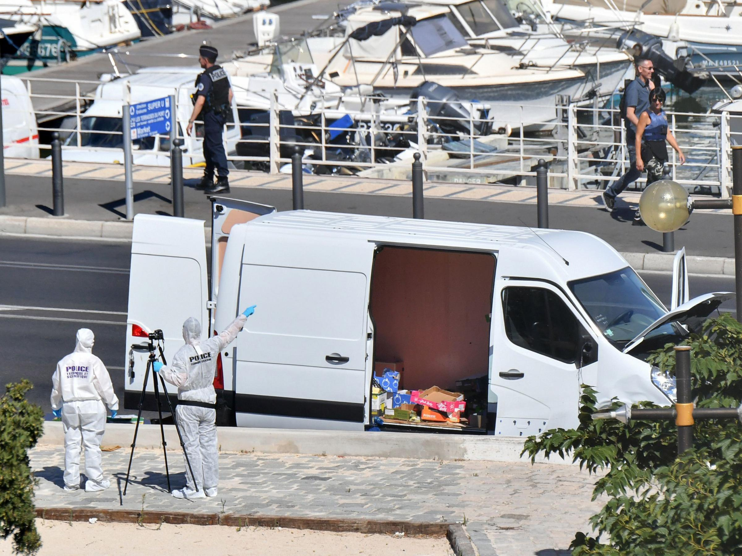 One killed in Marseille after vehicle crashes into bus shelters: Police source