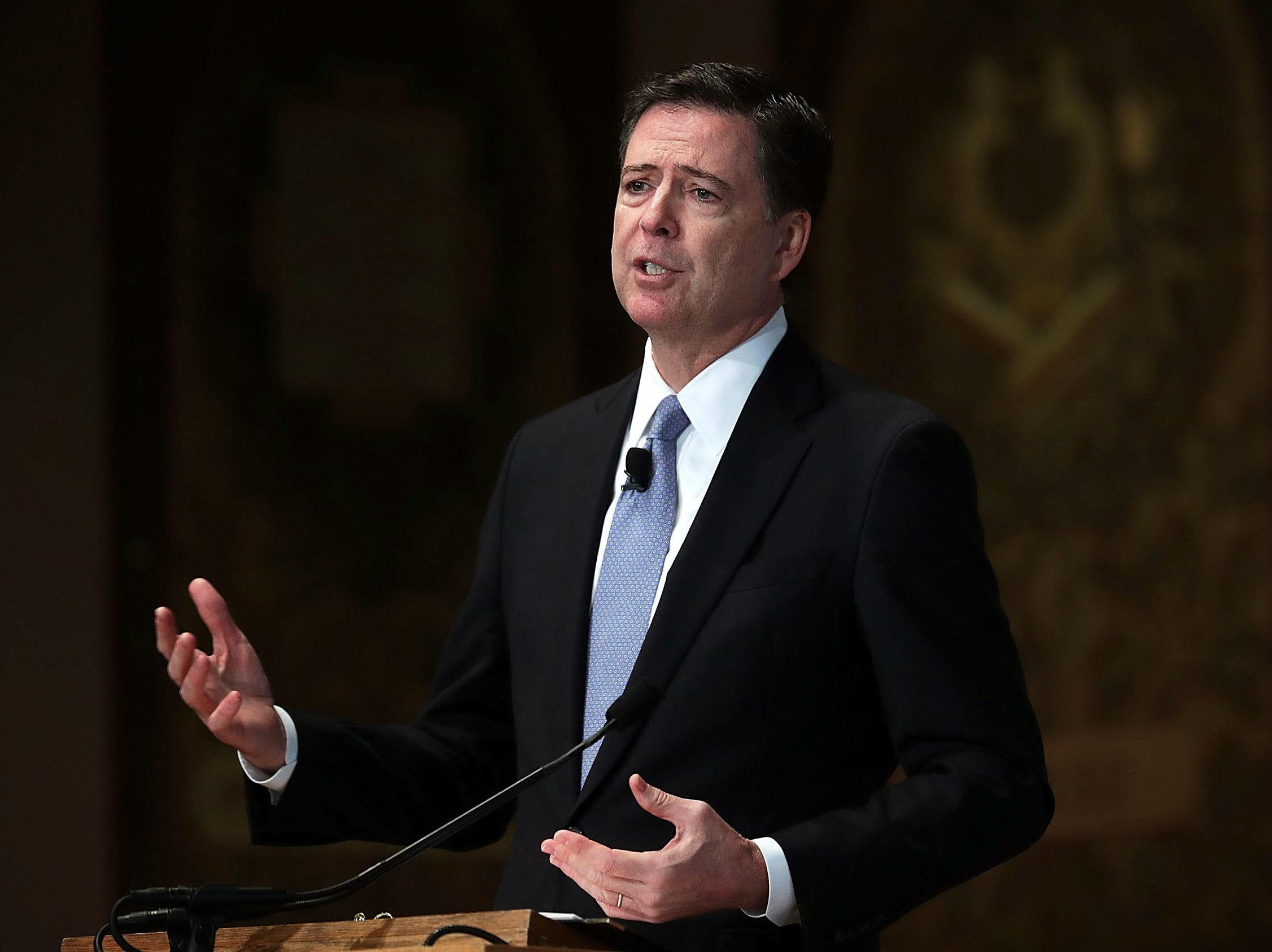 Former FBI director James Comey joining Howard University