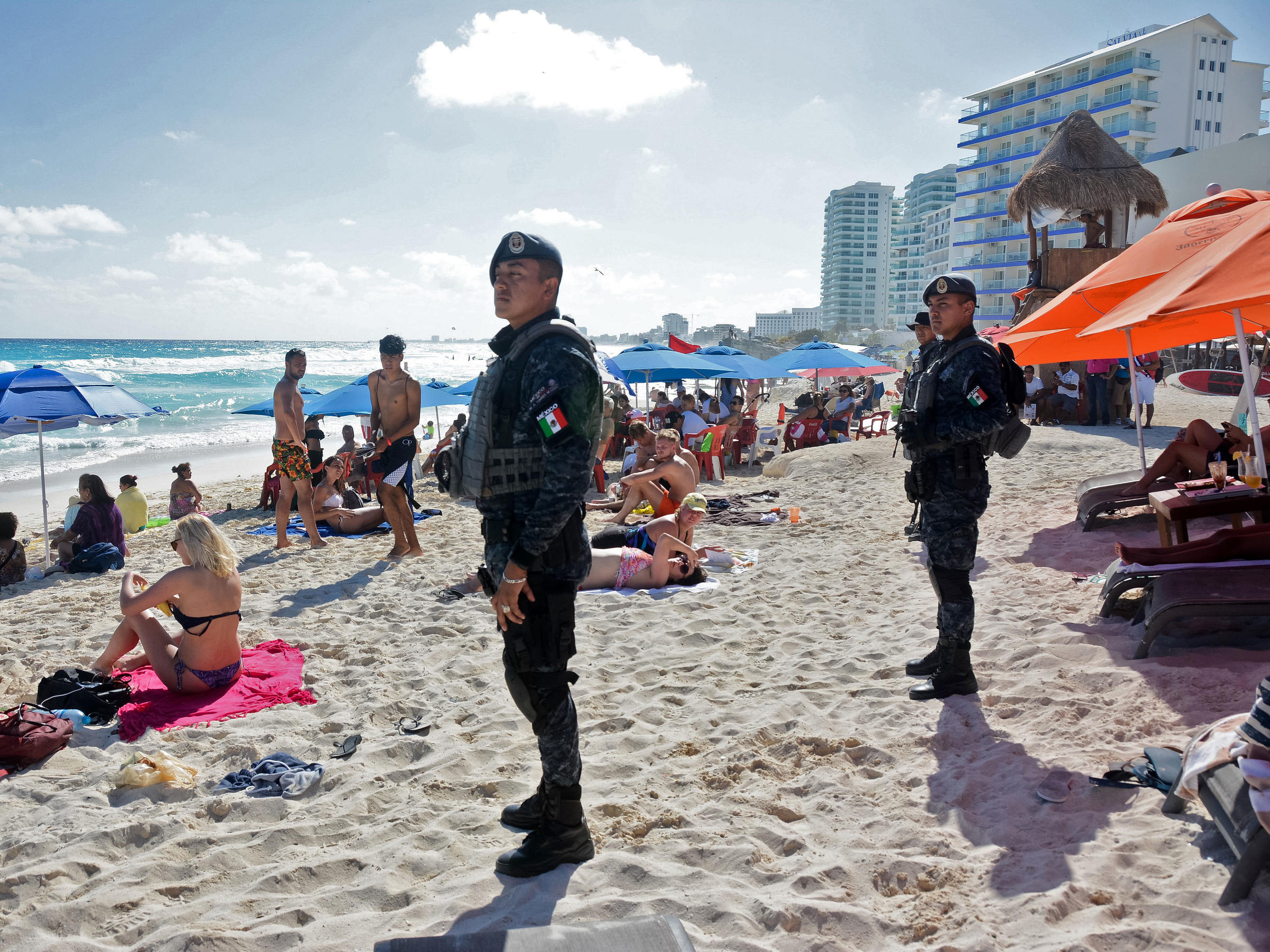 Warnings for popular Mexico spots