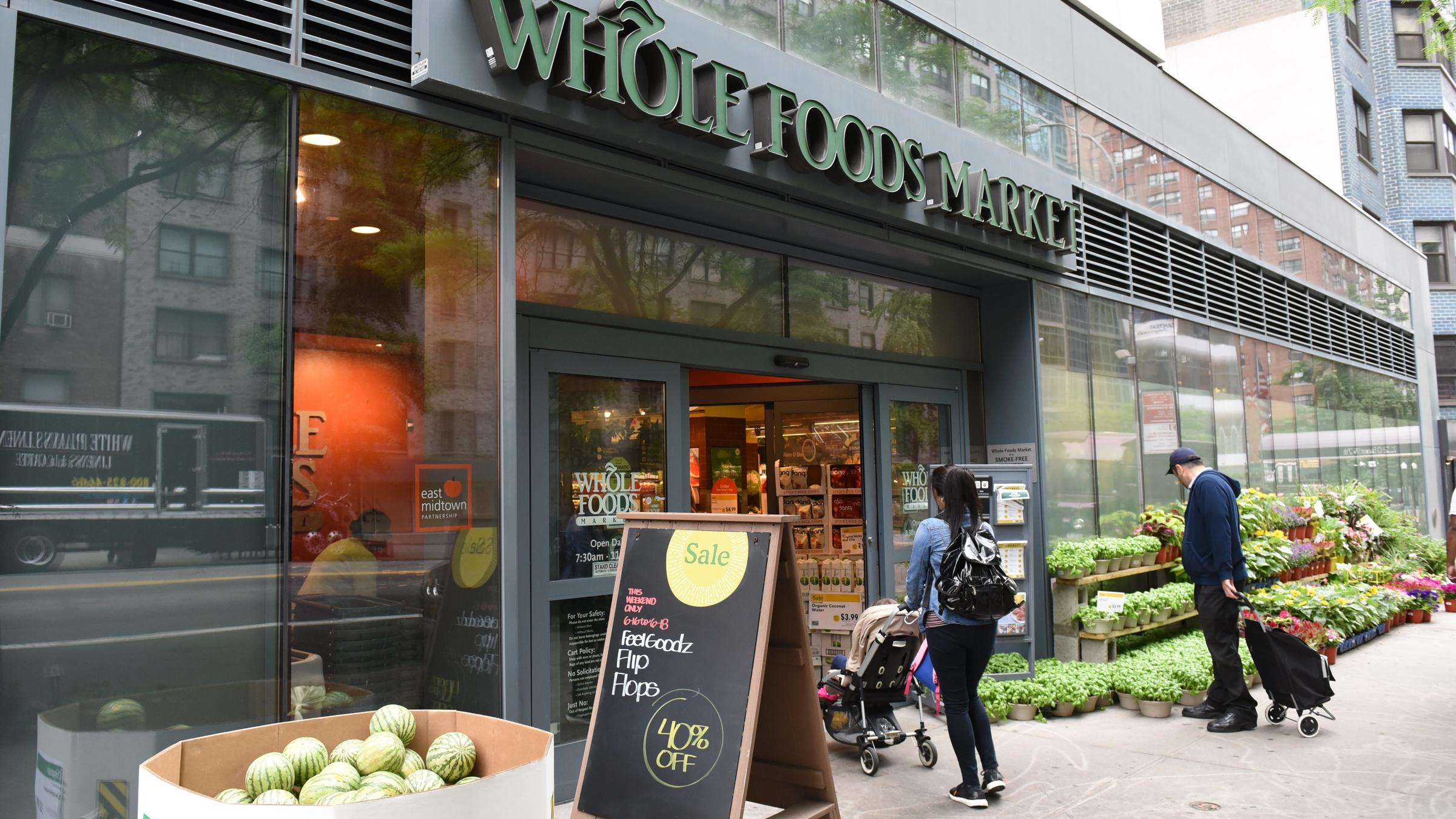 Amazon Prime Will Be Whole Foods' Rewards Program