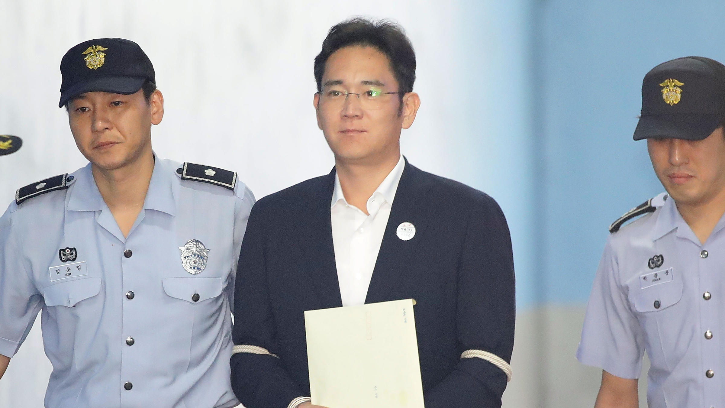 Samsung heir guilty of bribery, sentenced to five years jail