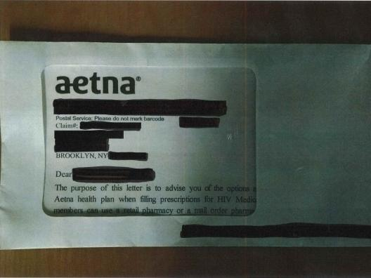 Thousands Of Customers' HIV Status Revealed On Envelopes Mailed By Insurance Company