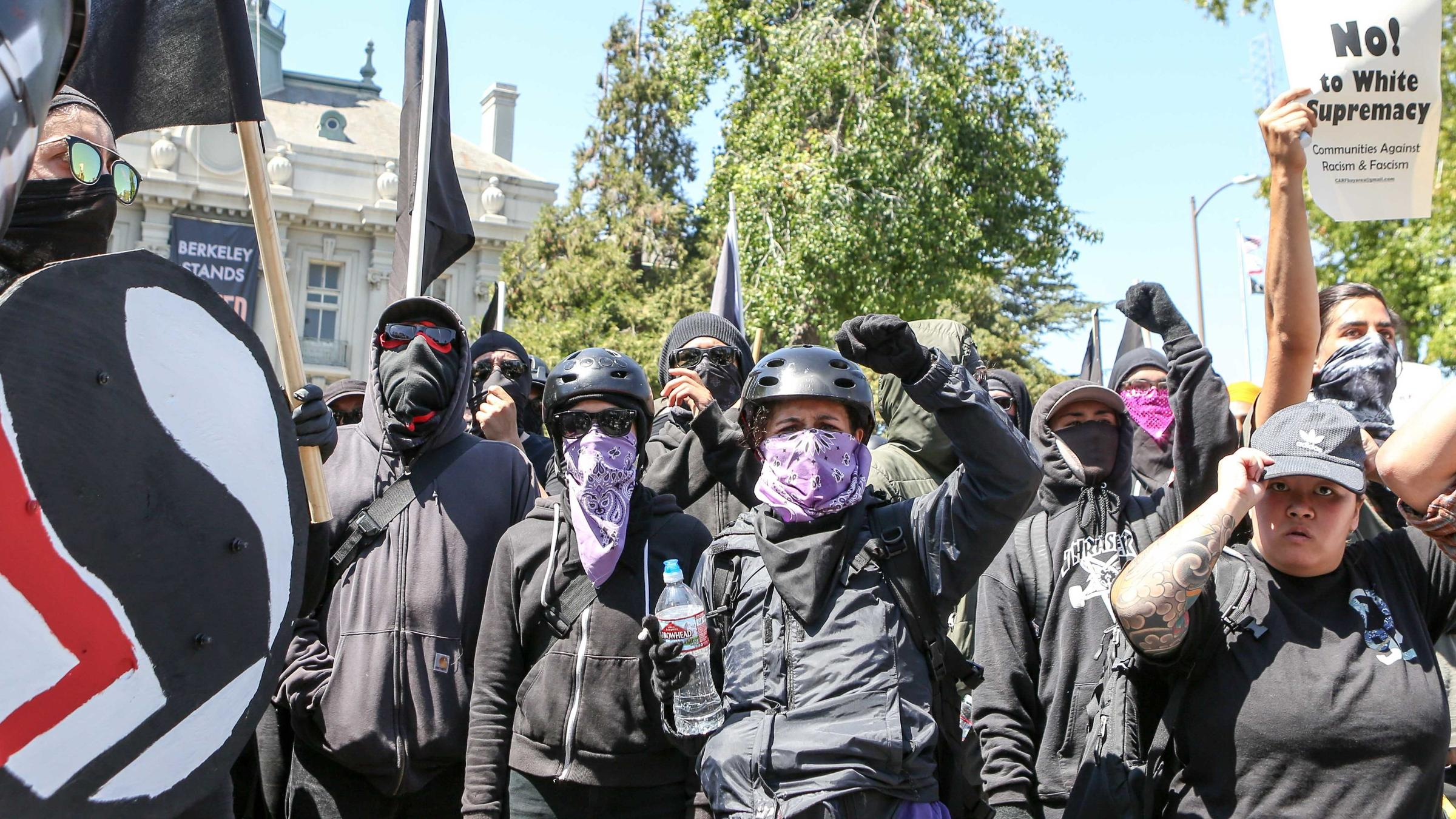 Protesters Clash in Berkeley - Arrests Made