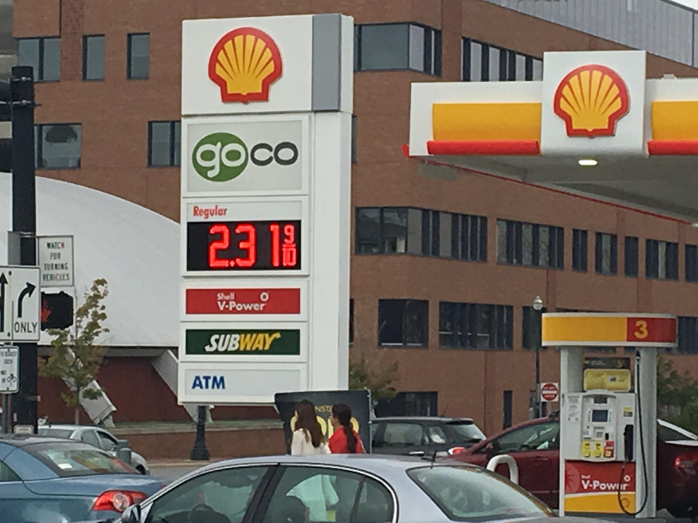 Columbus Gas Prices >> Blame Harvey For Higher Gas Prices This Holiday Weekend Wvxu