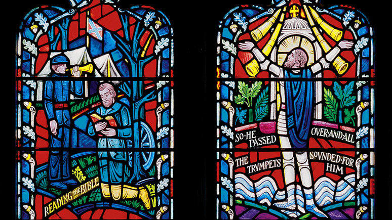 Washington National Cathedral Removes Stained Glass Windows Depicting Confederate Generals Lee, Jackson