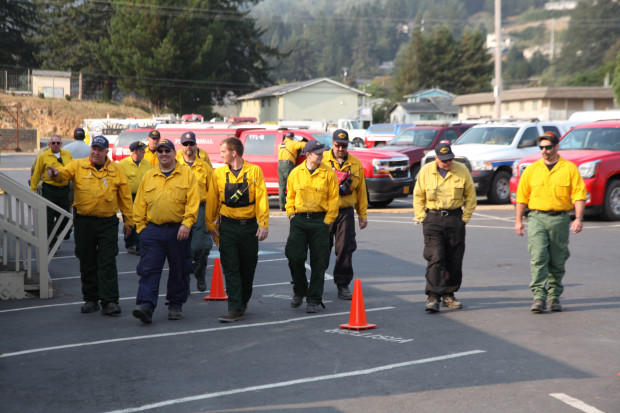 Crews make progress on Eagle Creek Fire