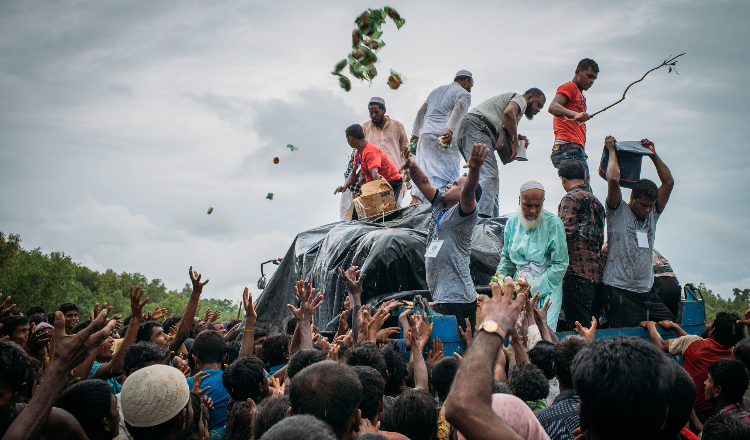 bangladesh myanmar Bangladesh on monday rejected a claim by myanmar that the buddhist-majority nation had repatriated the first five among some 700,000 rohingya muslim refugees who fled to the neighboring country to escape military-led violence against the minority group.