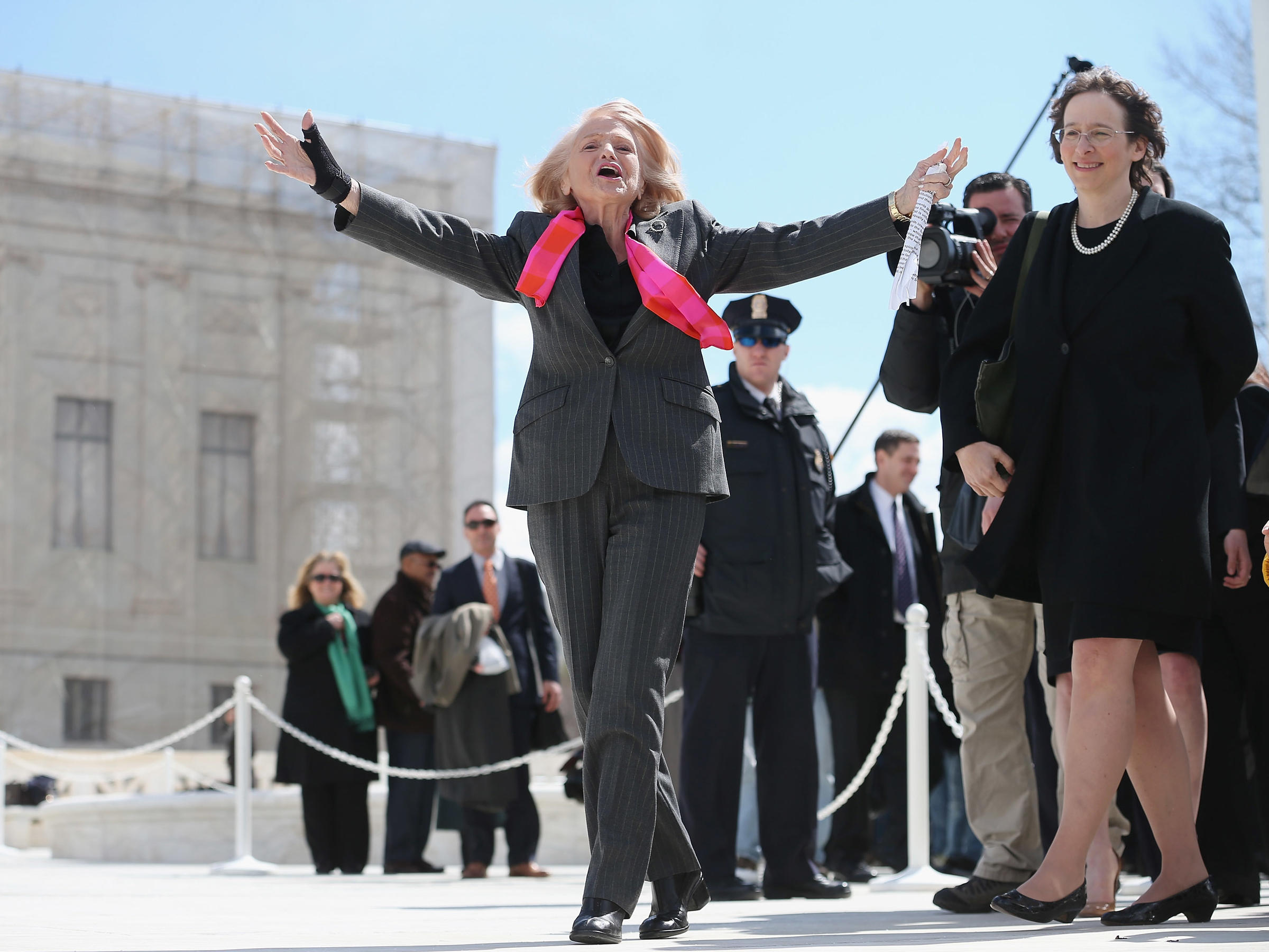 Edie Windsor, the Matriarch of Marriage Equality, Dies at 88 - Reactions
