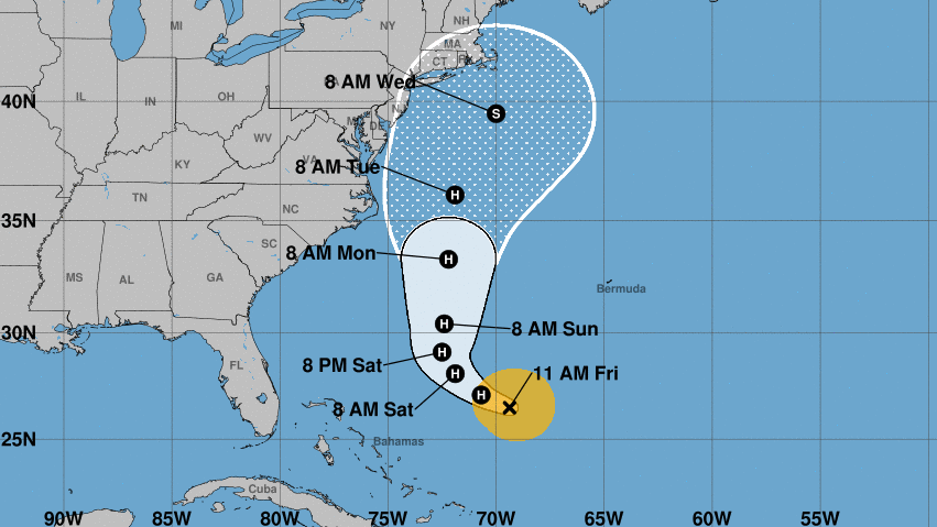 Tropical Depression Fourteen forms over the eastern Atlantic