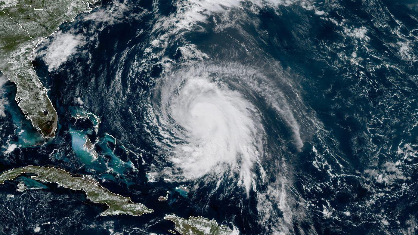 Hurricane Jose has weakened but will linger over Atlantic for days