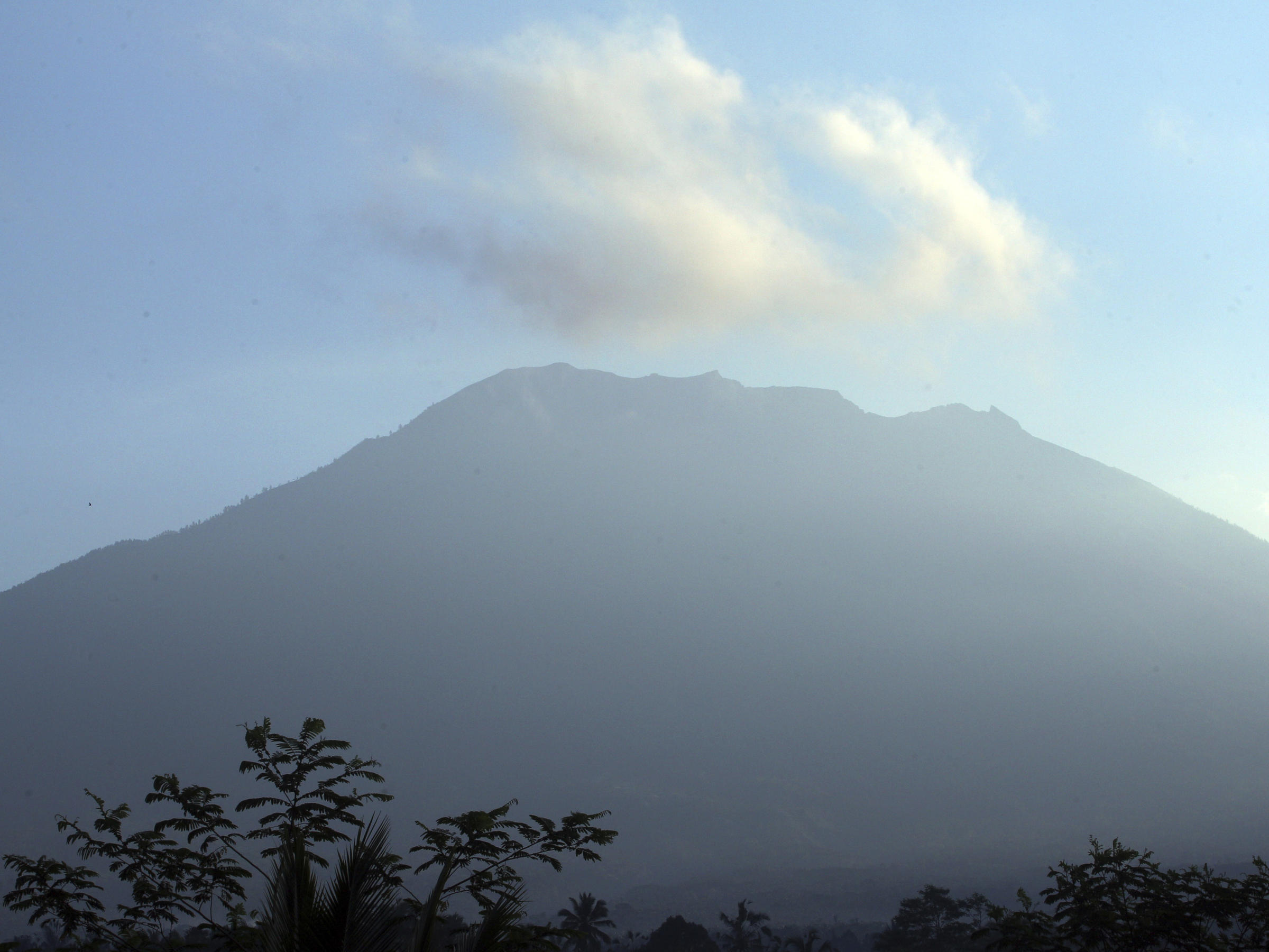 Rising Activity at Bali's Mount Agung
