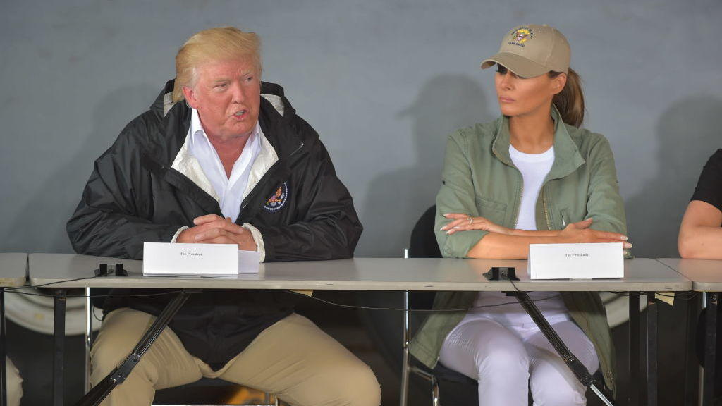 From His Golf Course Trump Blames Everyone But Him for Puerto Rico