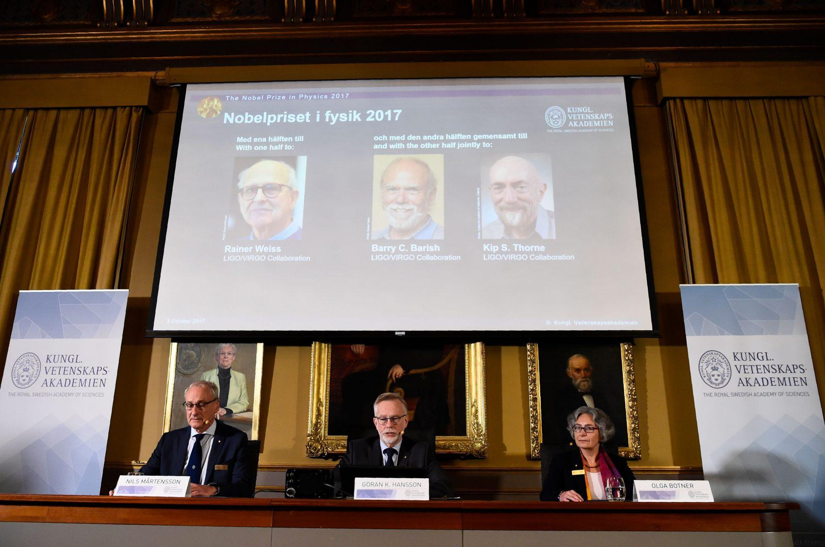 Detection of 'Most Violent Events in Space' Leads to Nobel Physics Prize