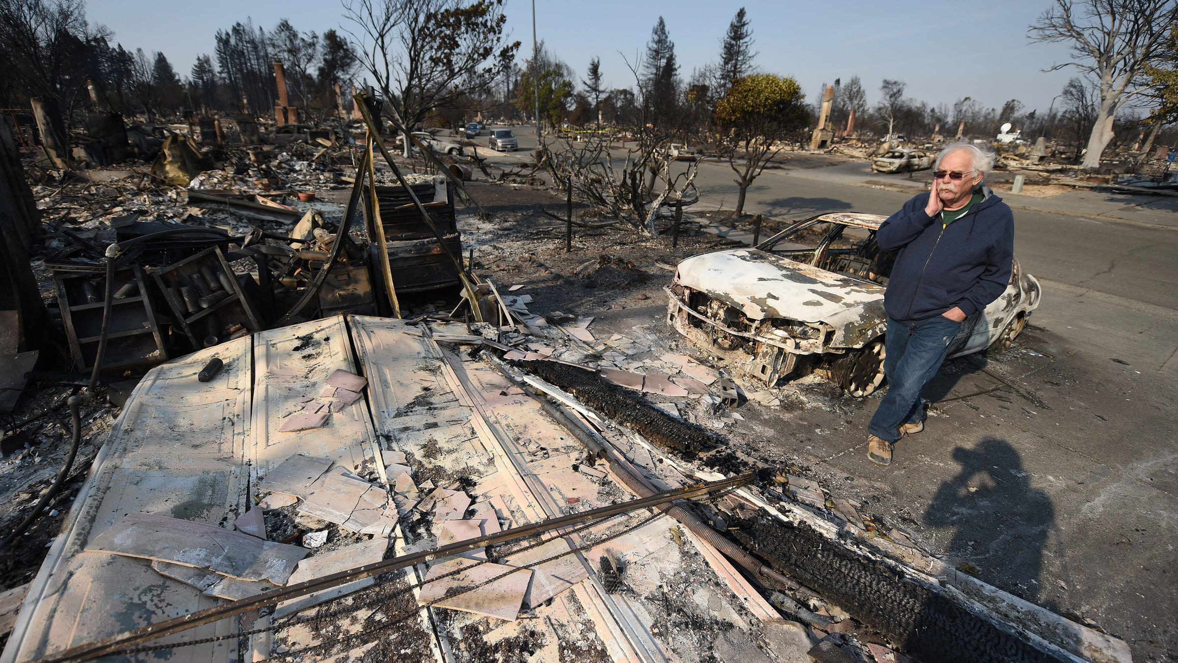 Firefighters still unable to control the fire in Northern California