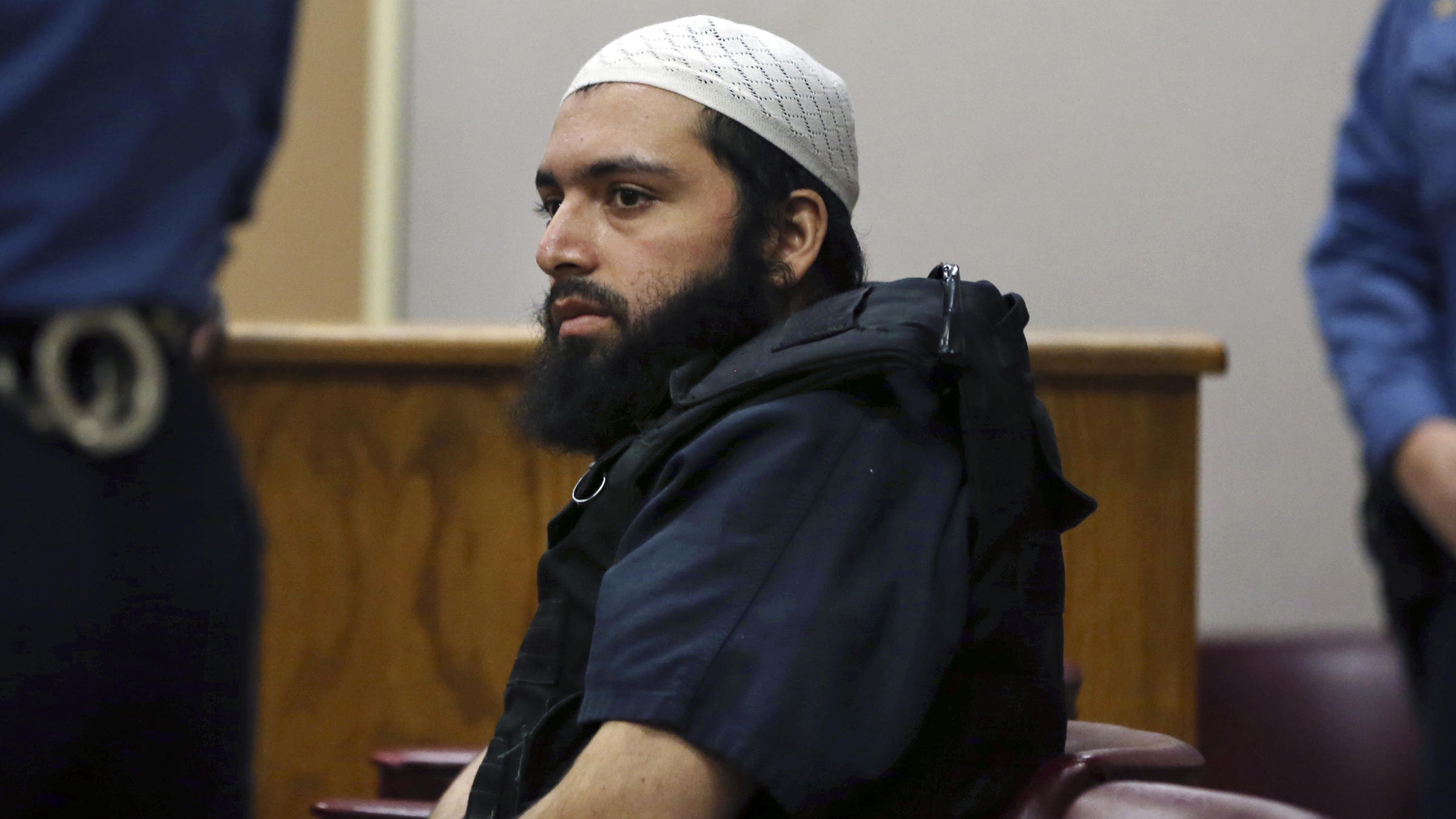Man convicted in NYC bombings that hurt 30