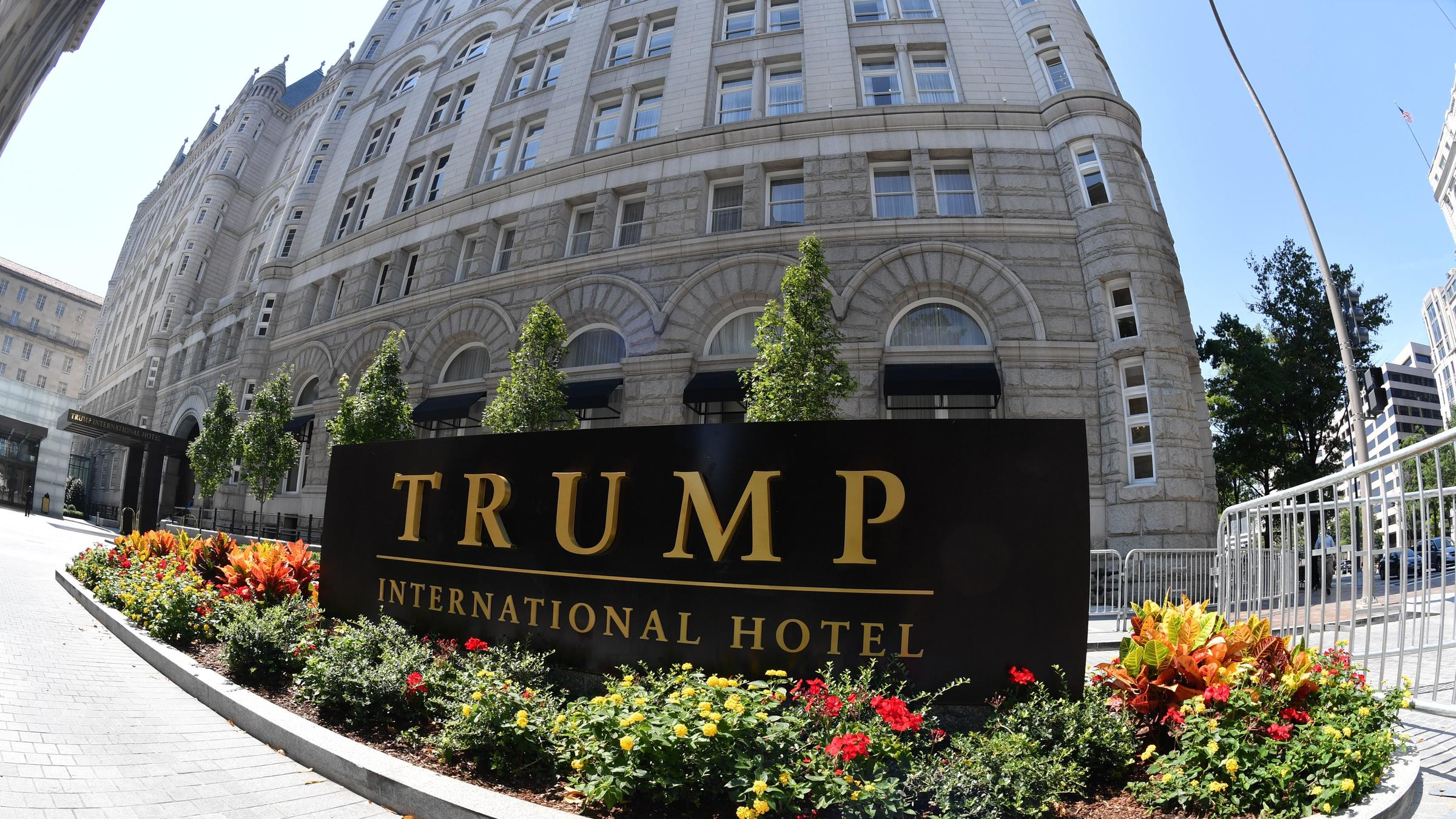 Judge asks group to justify right to sue Trump