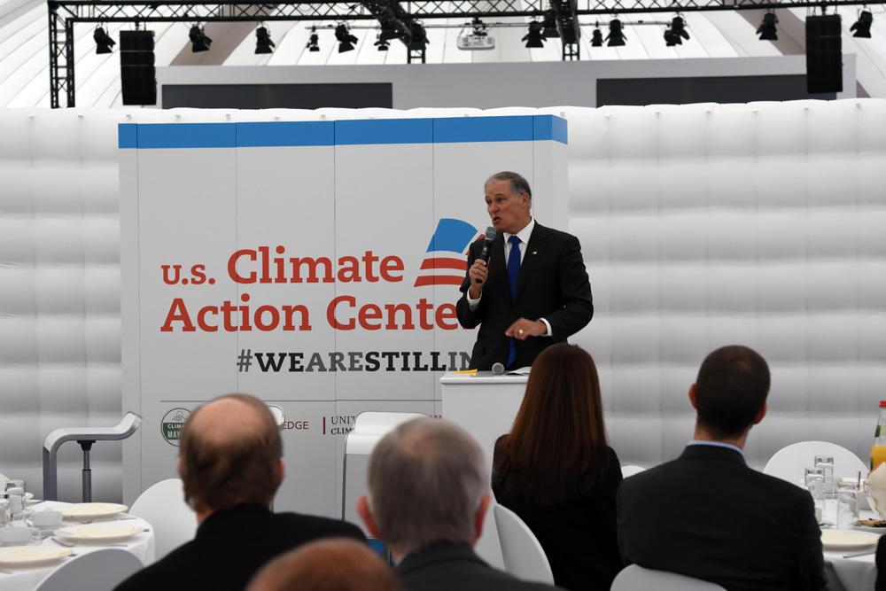 Oregon Washington Join North American Agreement On Climate Change