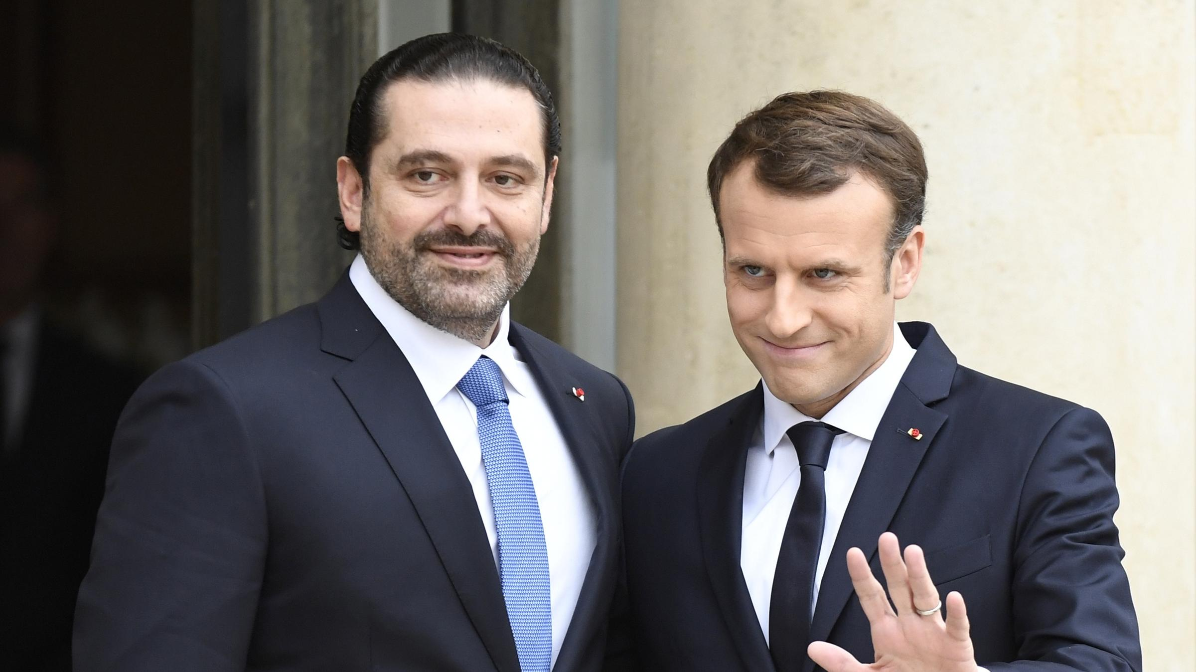 Macron invites Hariri, family to France