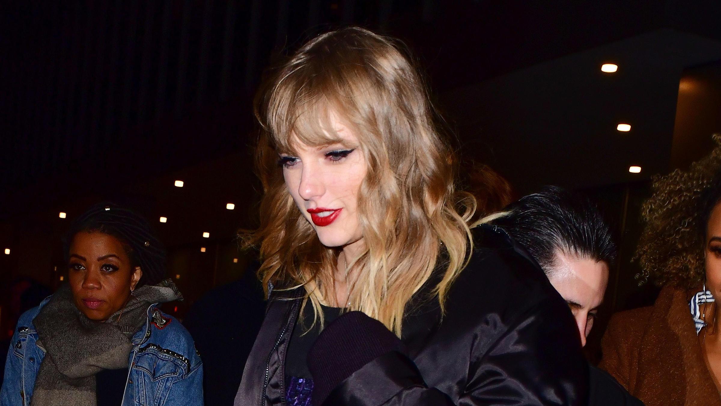 Taylor Swift on Nov. 11 2017 in New York City